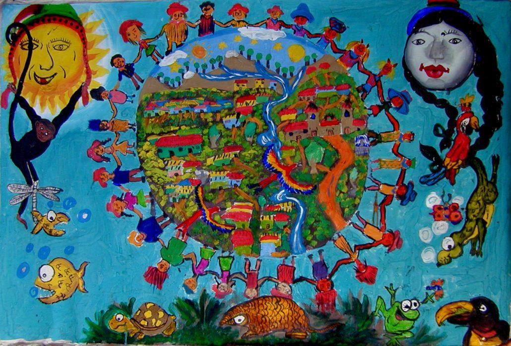 fresque du Pérou
