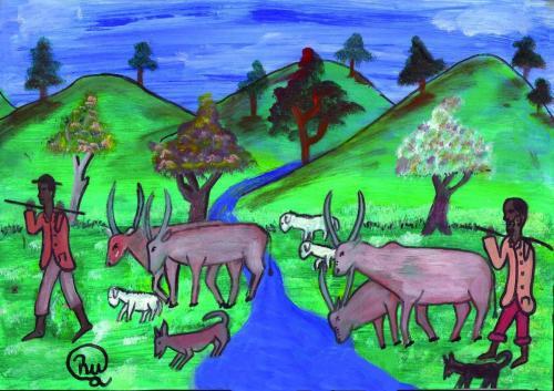 animaux011AfBurBezRukundoFiacre14Troupeau